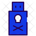 Usb Virus Virus Pen Drive Virus Icon