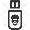 Malware Usb Virus Icon