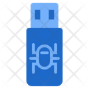 Usb Virus Hack Computer Icon