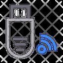 Usb Drive Internet Icon