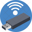 Usb Wifi Signals Icon