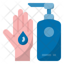 Use Hand Sanitizer Hand Antiseptic Hand Disinfectant Icon