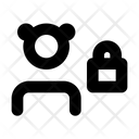 Lock User Locked Icon