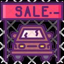 Used Car Dealership User Car Deal Dealership Icon