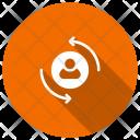 User Profile Reload Icon