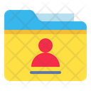 Folder Archive User Icon