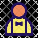 User Bow Tie Icon