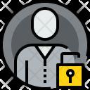 User Circle Unlock Icon
