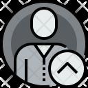 User Circle Up Icon