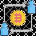 Bit exchange Icon