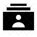 User List Rack Icon