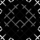 Male User Avatar Icon