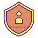 User Shield User Secure User Icon