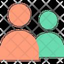 User Multiuser Team Icon