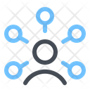 User Network Connection Icon
