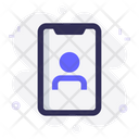 Mobile User Account Icon
