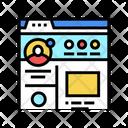 User Social Profile Icon