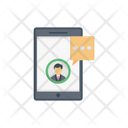 User Message Mobile Icon