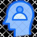 User Person Brain Icon