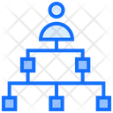 User Diagram Connection Icon