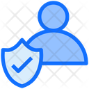 User Shield Check Icon
