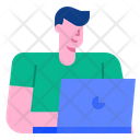 User Manager Male Icon