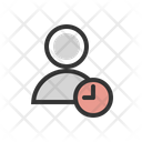 Admin People Time Icon
