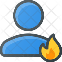 User Hot Burn Icon
