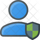 User Protect Action Icon