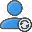 User Refresh Action Icon