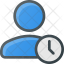 User Clock Time Icon