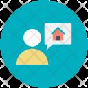 User Chatting Thinking Icon