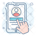 User Account User Login Mobile Login Icon