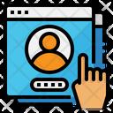 User Account Password Icon