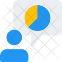 User Analysis Pie Chart Analysis Icon