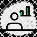 User Analysis Employee Analysis User Performance Icon