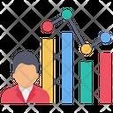 User Analysis Graph Icon