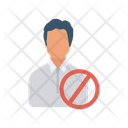 Banned Block Restricted Icon