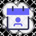 Calendar User Profile Icon