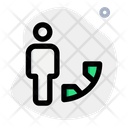 User Call Phone User Online Account Icon