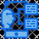 Data Chat Smartphone Icon