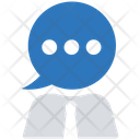 Human Chat Business Businessman Icon