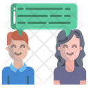 User Chat Discussion Communication Icon