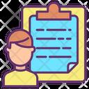 Document Clip Board User Clipboard User Task Icon