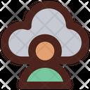 User Cloud Cloud User Cloud Profile Icon