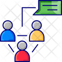 Connectionm User Communication Chat Icon