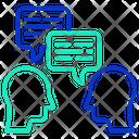 Conversation M User Communication Communication Icon
