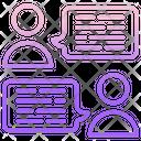 Communications M User Communication Chat Icon