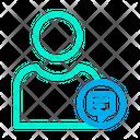 User Communication Profile Communication Male Profile Icon