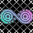 Network Team Infinity Icon